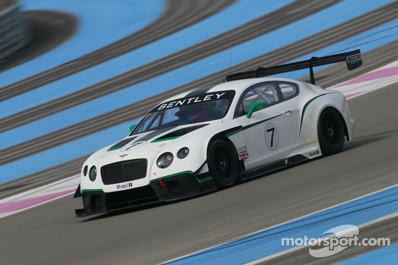 M-Sport Bentley announces star driver line-up for 2014