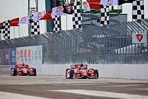 IndyCar Breaking news St. Petersburg track activities under rain delay