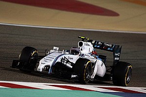 Formula 1 Testing report Bahrain test day one - Williams Martini Racing