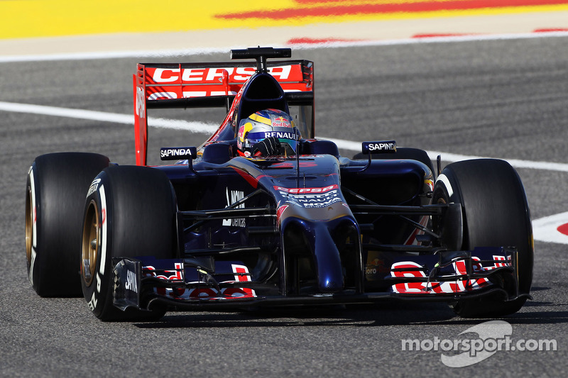 Scuderia Toro Rosso completed second day of testing at Bahrain