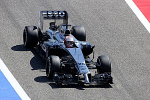 Formula 1 Testing report McLaren Bahrain test report - day two