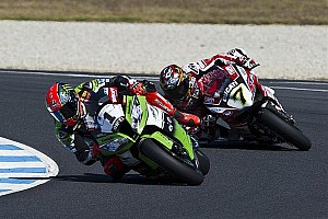 World Superbike Race report Sykes wins his first race of the season at Aragon