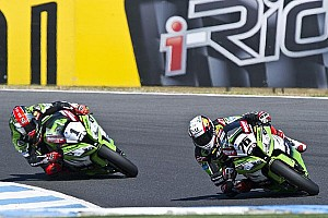 World Superbike Race report Kawasaki complete Aragon round in dominant fashion