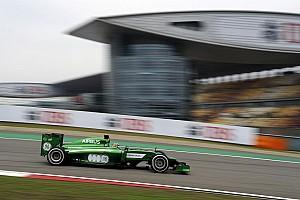 Formula 1 Practice report Tough practice for Caterham F1 team at Shanghai