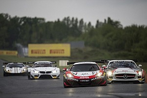Blancpain Sprint Race report Lloyd positive after Blancpain Sprint debut at Nogaro