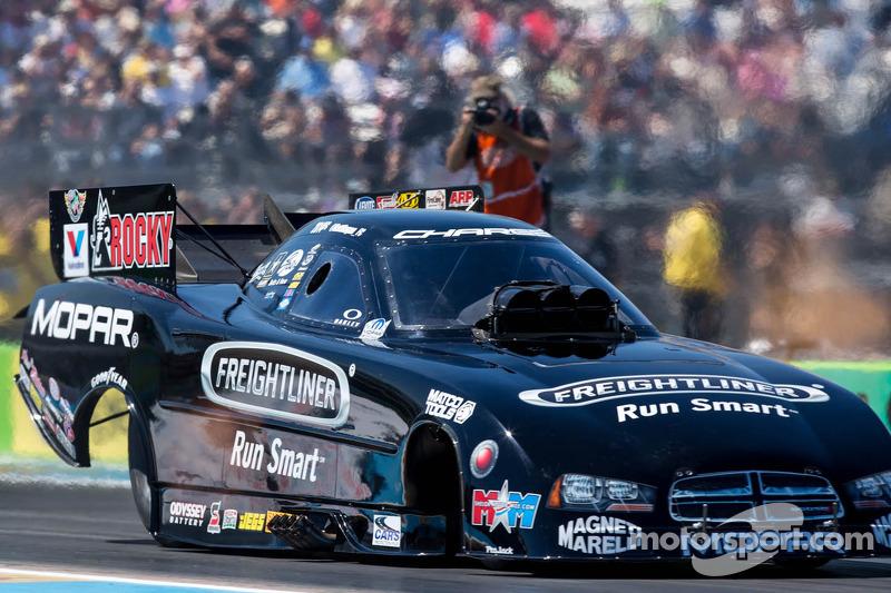 Matt Hagan prepares for Texas Raceway