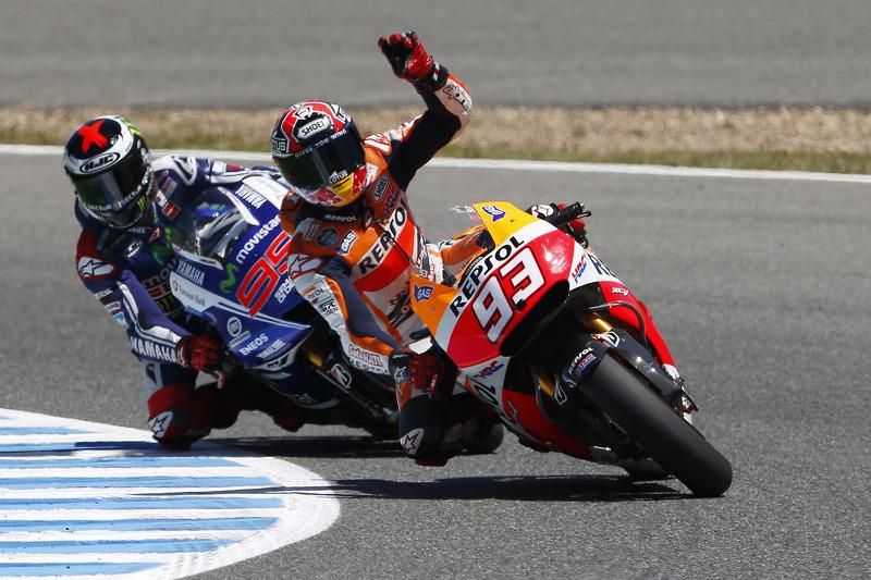 Bridgestone: Fourth successive victory for Marquez after Spanish triumph