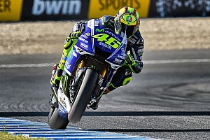 MotoGP Race report Rossi stays strong for superb second in Jerez