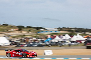 IMSA Race report Strong showing for pair of Scuderia Corsa Ferrari's at Laguna Seca