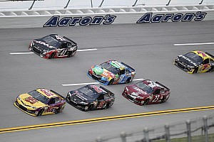 NASCAR Cup Race report Whitt leads BK Racing with 21st place finish at Talladega