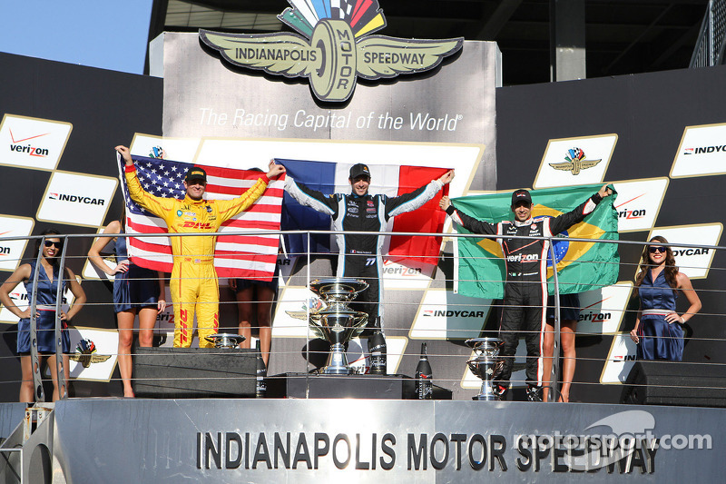 Pagenaud wins inaugural Grand Prix of Indianapolis
