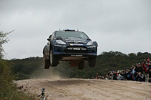 WRC Race report Hirvonen shows his class at Rally Argentina