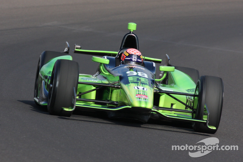 Jack Hawksworth to sart 13th for Indianapolis 500