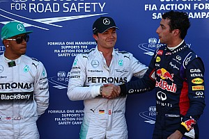 Formula 1 Breaking news Stewards probe what may have been a 'deliberate' mistake by Rosberg