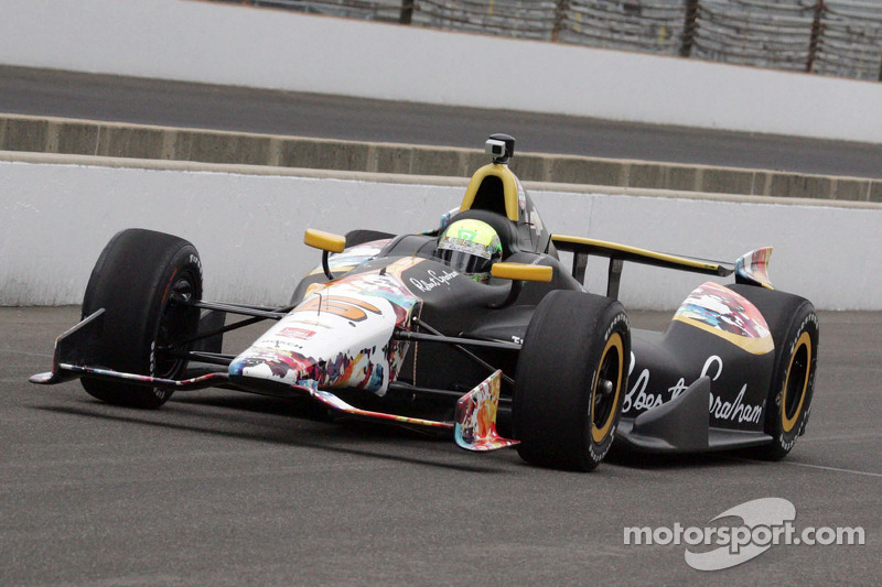 Townsend Bell's Indy 500 ends with a bang