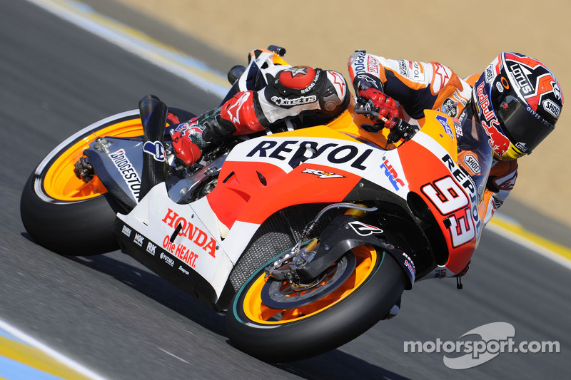 Bridgestone: Marquez quickest in rain-interrupted Friday practice at Mugello