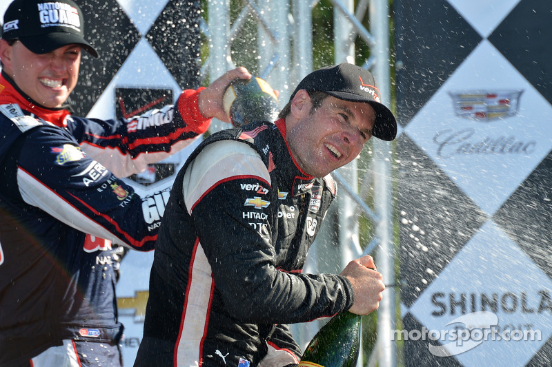 Power holds off Rahal to win Race One at Belle Isle
