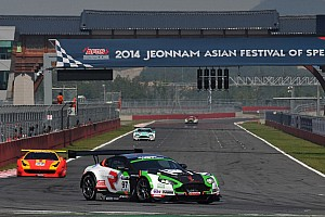 GT Race report Craft-Bamboo Racing wins round four of GT Asia, but is disqualified
