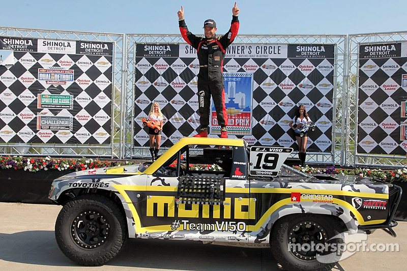Viso three for three in Detroit trucks