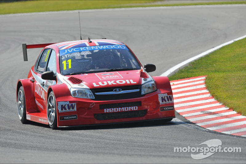 LADA shines in the spotlight ahead of WTCC's Race of Russia