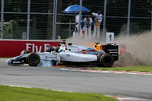 Formula 1 Race report Valtteri Bottas finished seventh, while Felipe Massa retired on the last lap
