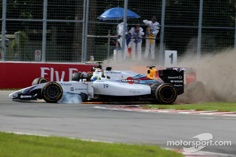 Valtteri Bottas finished seventh, while Felipe Massa retired on the last lap