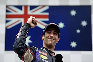 Formula 1 Breaking news Red Bull takes up option on Ricciardo contract - report