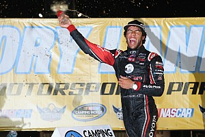 NASCAR Truck Race report Darrell Wallace Jr. takes NASCAR Camping World truck win at Gateway