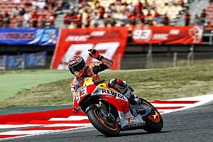 MotoGP Race report Bridgestone: Marquez conquers the Catalan GP to maintain perfect win record