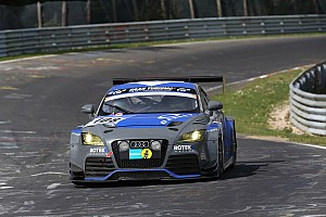 Endurance Race report Rotek Racing on a recovery drive as darkness descends over Nürburgring