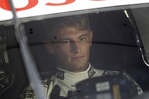 DTM Preview A hands-on approach: Marco Wittmann helps set up the Norisring and shows off his climbing skills