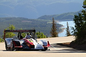 Hillclimb Practice report Romain Dumas in top form on the mountain...
