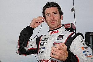 IndyCar Practice report Pagenaud tops IndyCar practice at Houston