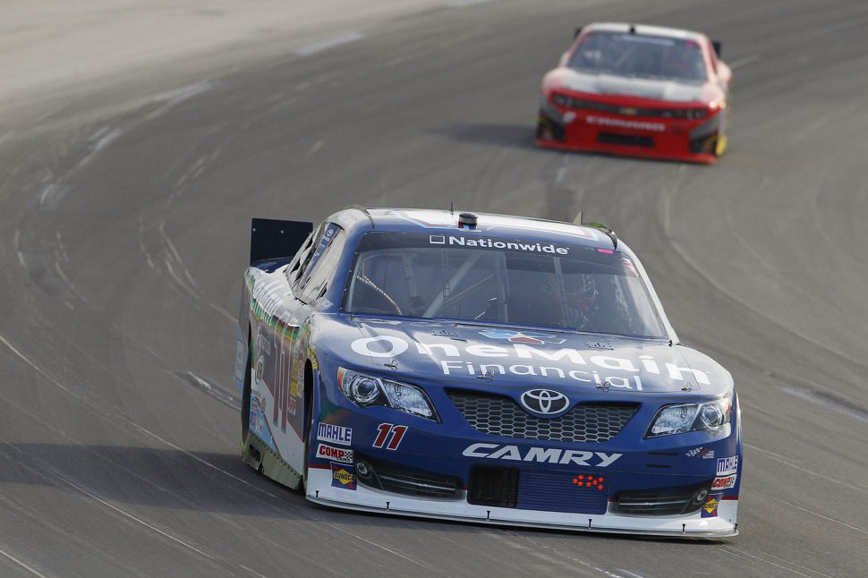 Late pass gives Kevin Harvick Nationwide win at Kentucky