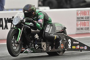 NHRA Preview Pro Stock Motorcycle standout Andrew Hines treasures time at Bandimere Speedway