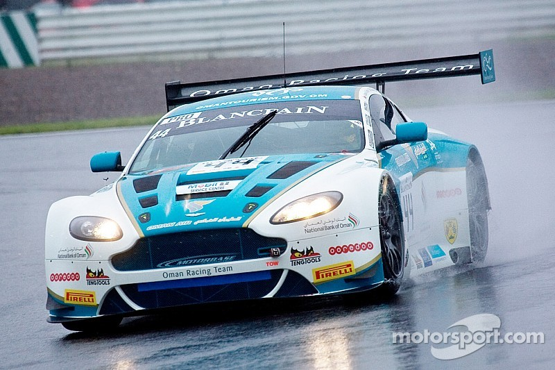 Five Aston Martins take on Spa 24 Hours