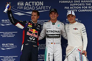 Formula 1 Qualifying report Rosberg takes pole from Vettel in final seconds of Hungarian GP qualifying