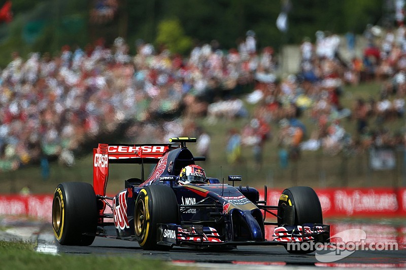 Toro Rosso improves and Vergne will start tomorrow's Hungarian GP from 8th place position