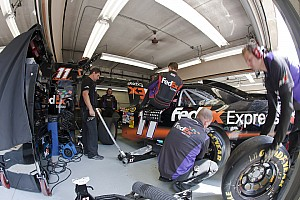 NASCAR Cup Breaking news Problems for Hamlin in post-race inspection