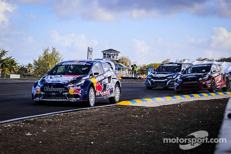 Olsbergs MSE Ford Fiesta ST rallycross cars fast in Charlotte