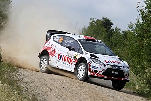 WRC Stage report Solid start for Kubica