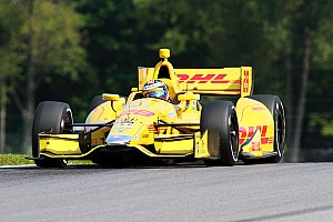 IndyCar Practice report Hunter-Reay fastest in P1
