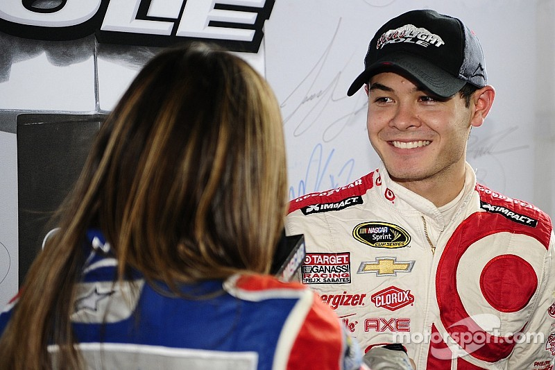 Rookie Kyle Larson secures maiden Sprint Cup pole