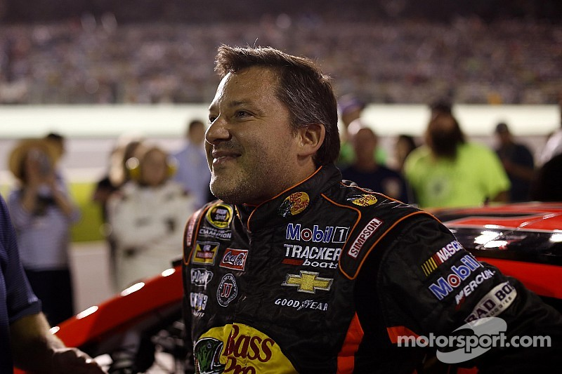 Tony Stewart is still on the rebound