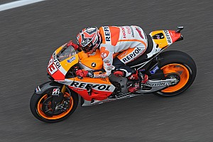 MotoGP Qualifying report Bridgestone: Marquez marches to eighth pole position of the year at the Brickyard