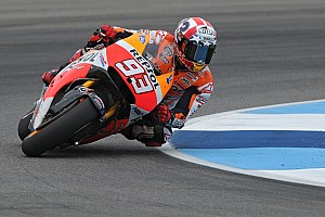 MotoGP Practice report Bridgestone: Marquez sets the pace in both the wet and dry in mixed first day at Brno