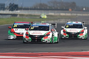 WTCC Breaking news 30 extra kilos for the Honda cars