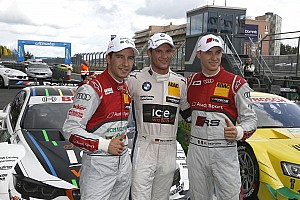 DTM Qualifying report Pole position for Marco Wittmann at Nürburgring