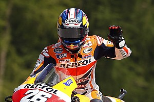 MotoGP Breaking news Pedrosa ends Marquez winning streak with victory at Brno