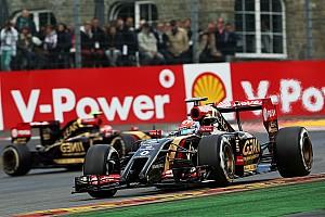 Formula 1 Qualifying report Grosjean emerged from the rain with fifteenth start position, Maldonado took P18